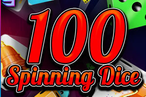 100 Spinning Dice