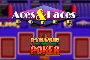 Pyramid Aces and Faces Poker